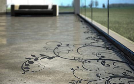 artistic-patterned-concrete-floor