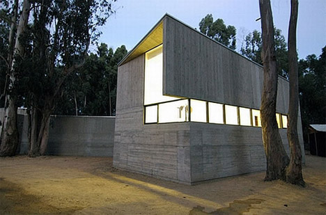 Concrete House Glass Exterior Part 64