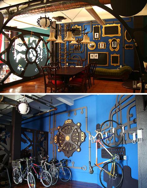 Creative Steampunk Office Design on the Cheap | dornob