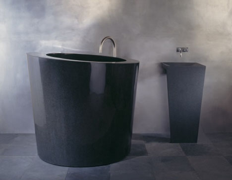 Deep Elegant and SpaceSaving Soaking Bathtub