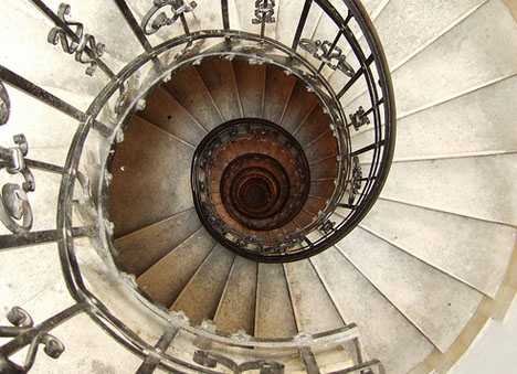elegant-ancient-cathedral-spiral-staircase
