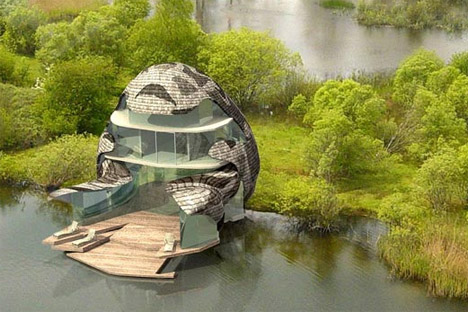 Fantastic Futuristic Green House Design