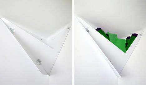 Space Saving Creative Corner Bookshelf Designs