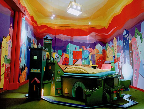 Kids Castle Interior Art Hotel Room In Wonderland Designs Ideas On Dornob