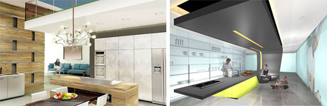Creative Modern Interior Kitchen Designs