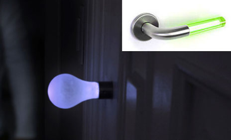 Light Up Door Handles Illuminate Entries And Exits