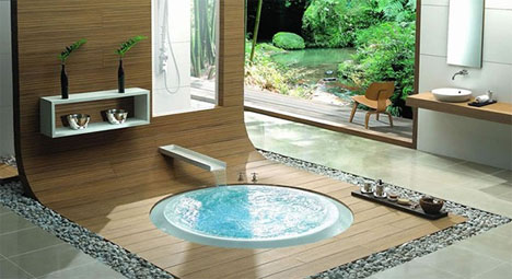 Bathroom Interiors Custom Elegant Modern Bathroom Interiors … And Tubs Design Ideas