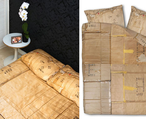 recycled-cardboard-bed-sheet-design