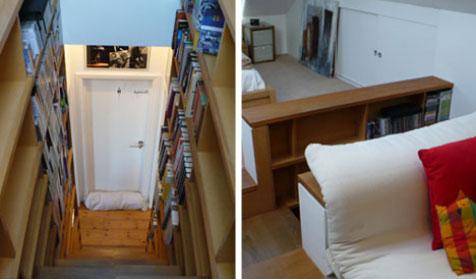 stairs-bookcase-combination-interior-design