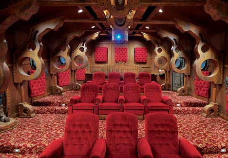 submarine extremes nautilus themed home theater