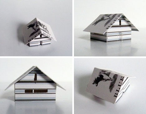architectural-business-card-model