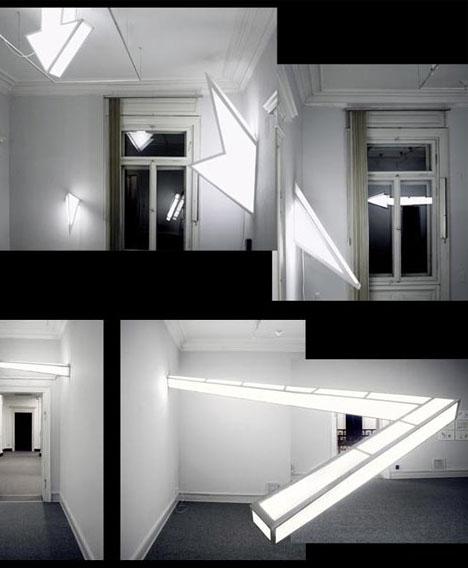 Interior Art Installation Architecture Modern Mobility
