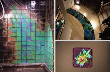 Hot or cool color changing chameleon tiles designs - What temperature can you paint outside ...
