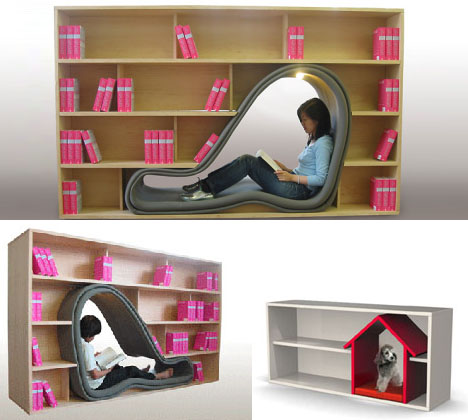 http://dornob.com/wp-content/uploads/2009/03/combination-chair-lounger-bookcase-design.jpg