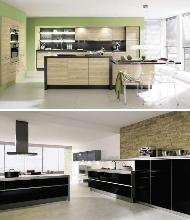 Modern kitchen design inspiration luxurious layouts for Kitchen setup designs