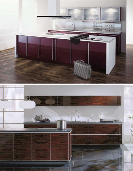 Creative Modern Kitchen Layouts