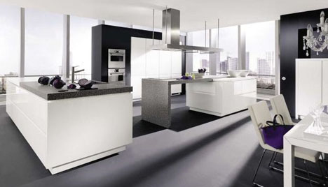 modern kitchen design inspiration luxurious layouts. Black Bedroom Furniture Sets. Home Design Ideas