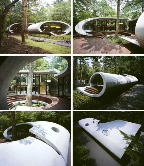 curved-shell-shaped-house-design