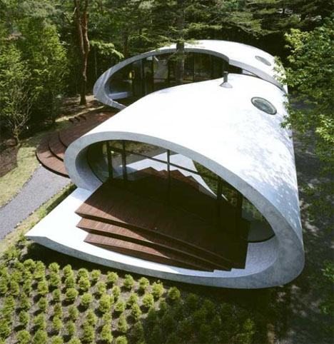 Shell House Design: Spectacularly Curved Architecture | Designs