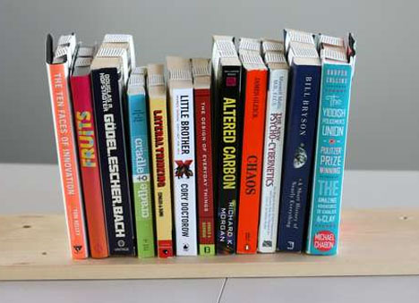Diy Inverted Book Shelf Design
