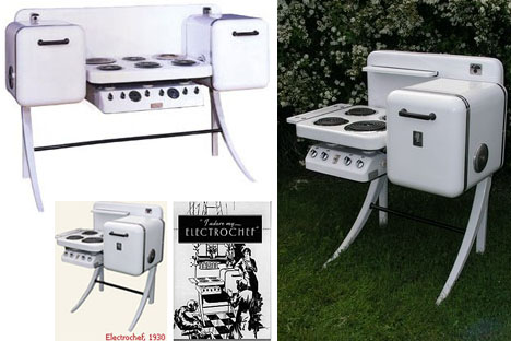 Electrochef Vintage Kitchen Appliances. U201c