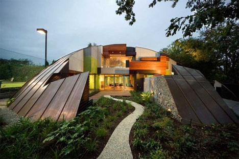 Funky Unusual Creative Home Exterior