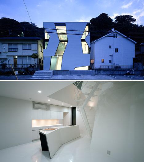 futuristic-house-interior-at-night