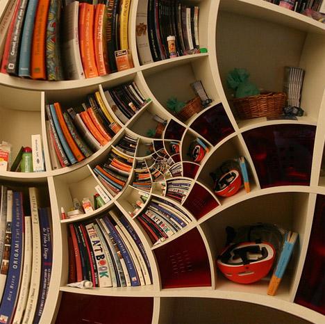 impossible-spiral-bookcase-design