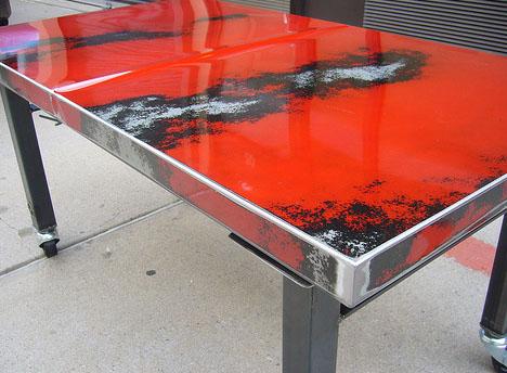 Furniture Metal. Metal Scrap Table Design A Furniture Metal