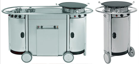 Portable Cooking Appliances & Mobile Kitchen Stations