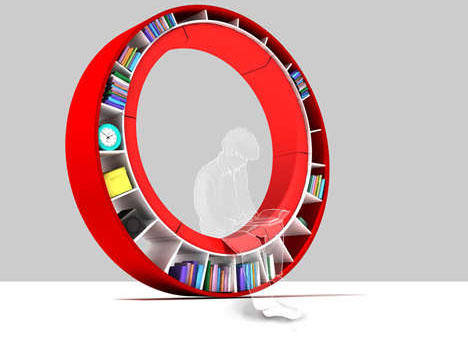 round-bookcase-couch-combination
