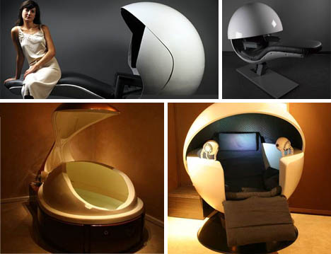Pod Beds Futuristic Sleepers For On The Job Napping