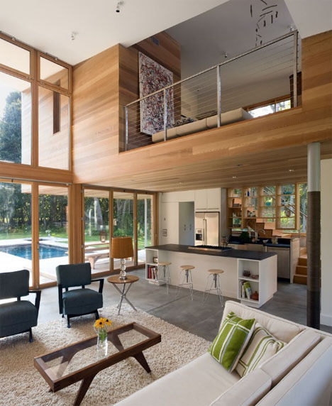 Sustainable Green Home Interior Design