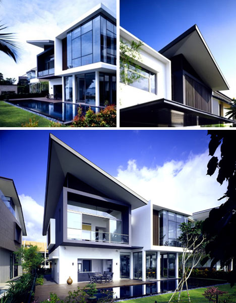 Ultramodern house works despite small lot size designs - Creative design ideas for the home ...