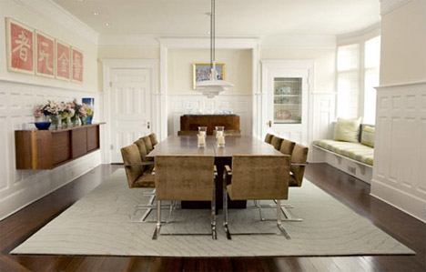 wood-and-white-dining-room-design