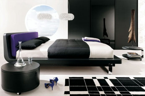 bedroom-black-white-design