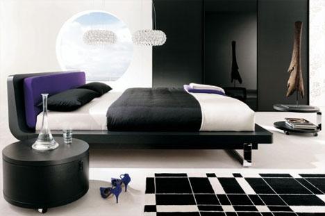 bedroom-black-white-design