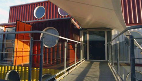 Cargo Container Apartments cargo container house plans continue to expand
