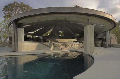 Contextual Rock Concrete House