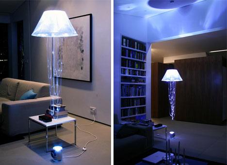 Floating Elegant Modern Lamp