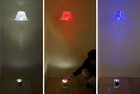 Floating Multi Colored Lamp