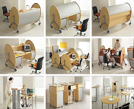 modern-rounded-wood-desk-design