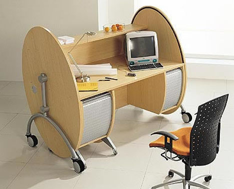 modern-wood-metal-office-desk-design