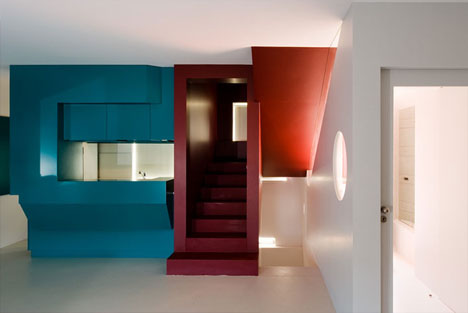 Painting In Primary Colors Stark Simple Interior Design