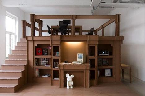 office-interior-cardboard-design