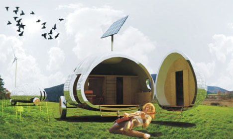 Beau Portable Concept House Design