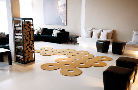cutting rugs creatively shaped area carpet designs