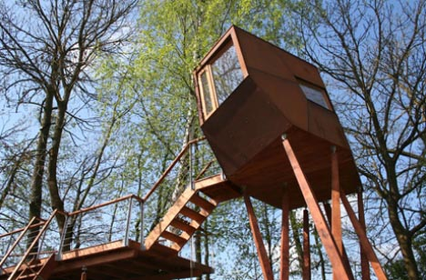 Modern Tree Living Creative Treehouse Designs Plans Designs