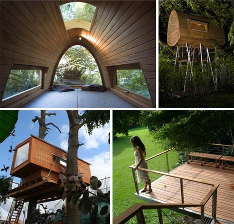 Tree House Modular Futuristic Homes