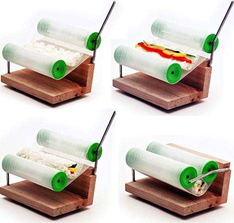 automatic-sushi-rolling-device